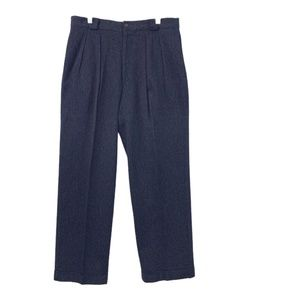 Giorgio Armani Le Collezioni Wool Pant Gray Sz 34
